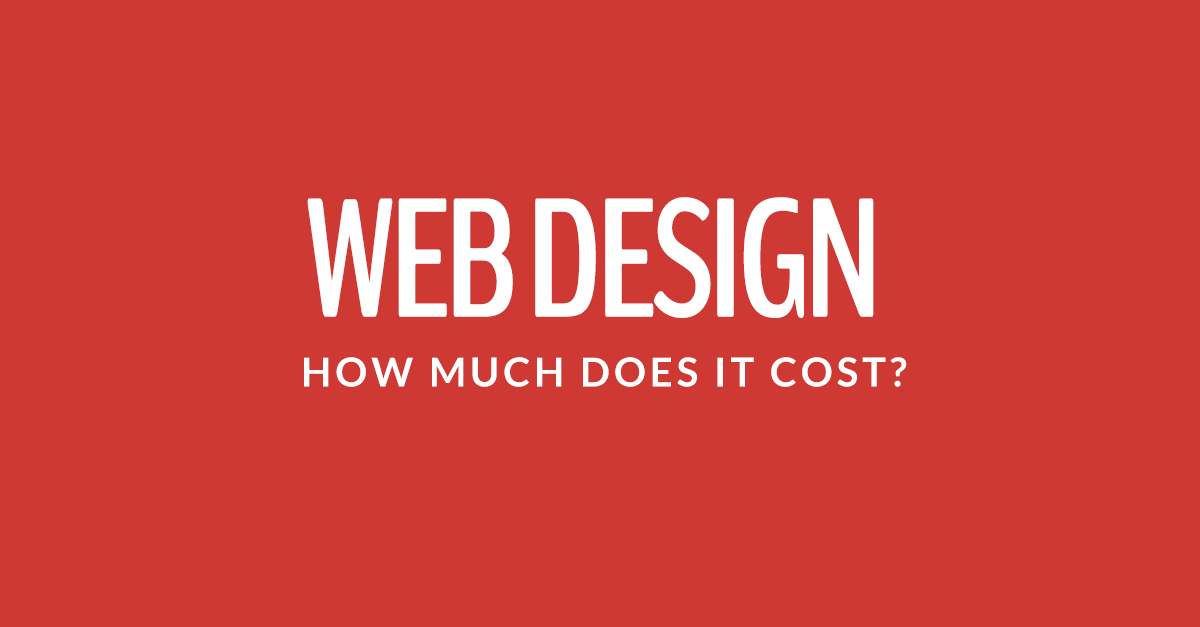 WEBSITE DESIGN PRICES IN 2019